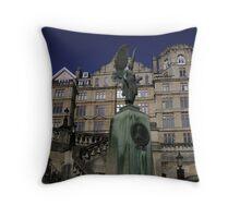 Grand Building in Bath, England Throw Pillow