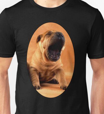 Tired Puppy Unisex T-Shirt