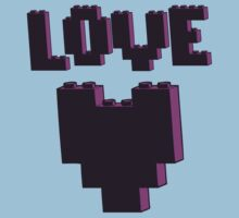 """LOVE""  One Piece - Short Sleeve"