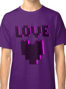 """LOVE""  Classic T-Shirt"
