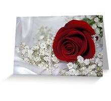 Pearly White Greeting Card