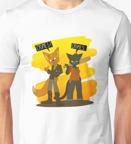 Crimes with Gregg Unisex T-Shirt