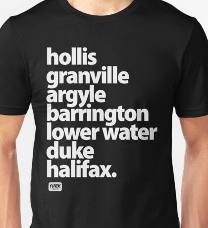Halifax Nova Scotia Downtown Unisex T-Shirt