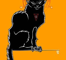 Salem - The Original Chat Noir by kgullholmen