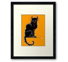 Salem - The Original Chat Noir Framed Print