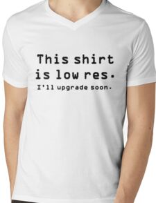 Low res shirt Mens V-Neck T-Shirt