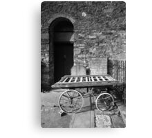 Bier Trolley Canvas Print