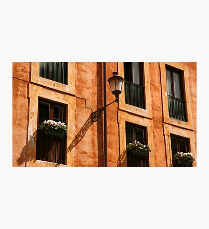 Roman facade Photographic Print