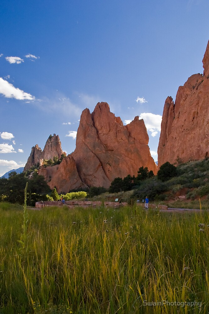 South Gateway Rock, Garden of the Gods, Colorado Springs, Colorado by SwainPhotography