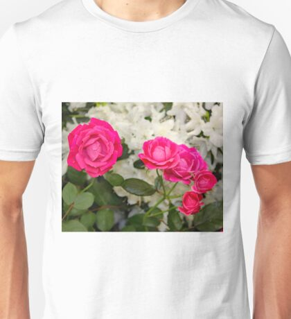 The Faries in My Garden Wanted Roses Unisex T-Shirt