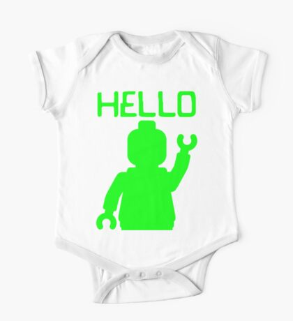 Minifig Hello One Piece - Short Sleeve