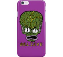 Believe Alien iPhone Case/Skin
