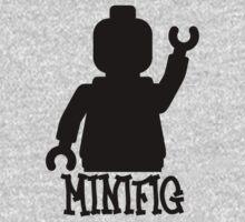 Minifig Man  One Piece - Short Sleeve