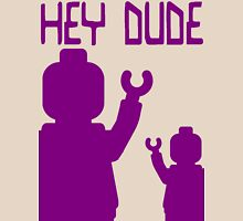 Minifig Hey Dude Womens Fitted T-Shirt
