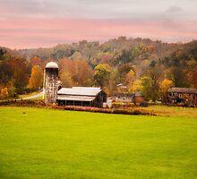 Rolling Hills Kentucky Farm by MaryTimman