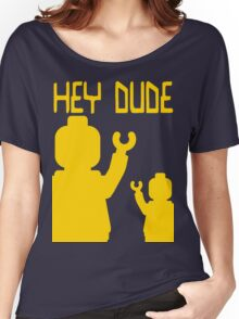 Minifig Hey Dude Women's Relaxed Fit T-Shirt