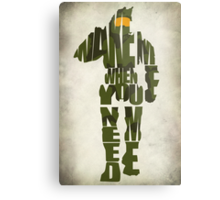 Master Chief Metal Print