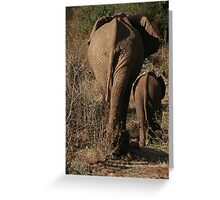 Time To Go Greeting Card