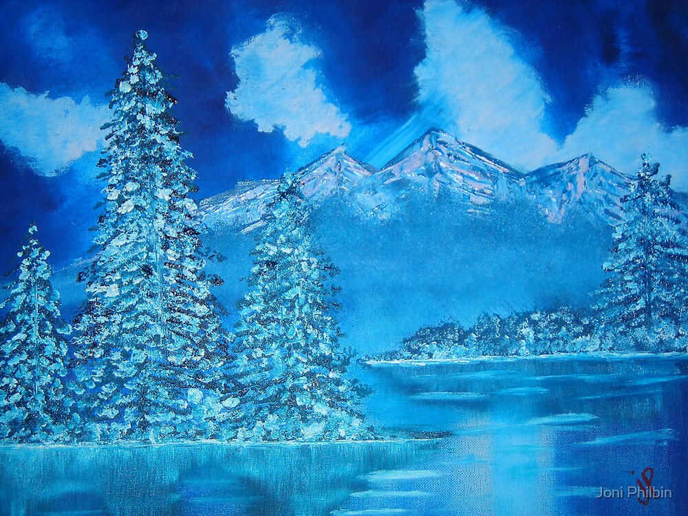 winter scene II by Joni Philbin