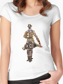 Rorschach Women's Fitted Scoop T-Shirt