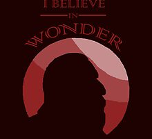 I Believe in Wonder by Saphiria333