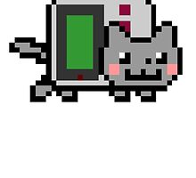 Gameboy nyan BIG!! by savestones