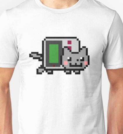 Gameboy nyan BIG!! Unisex T-Shirt
