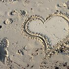 Heart in the Sand by Bine
