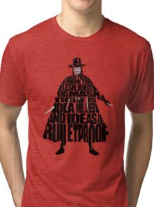 V for Vendetta Tri-blend T-Shirt
