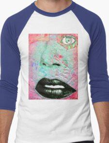 Thinking Pink Men's Baseball ¾ T-Shirt