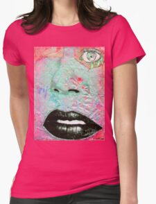 Thinking Pink Womens Fitted T-Shirt