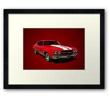 1970 Chevelle SS Framed Print