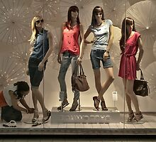 Four dummies and a window dresser by awefaul