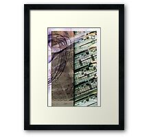 The Weather Report Framed Print