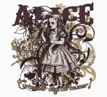 Alice In Wonderland Carnivale Style Kids Clothes