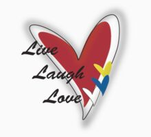 Live Love Laugh by Jazmine