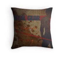 Metal Gear Fox - Frank Jaeger - Hypothetical Game Design  Throw Pillow