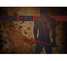 Metal Gear Fox - Frank Jaeger - Hypothetical Game Design  Photographic Print