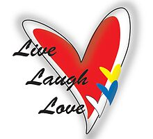 Live Laugh Love by Jazmine
