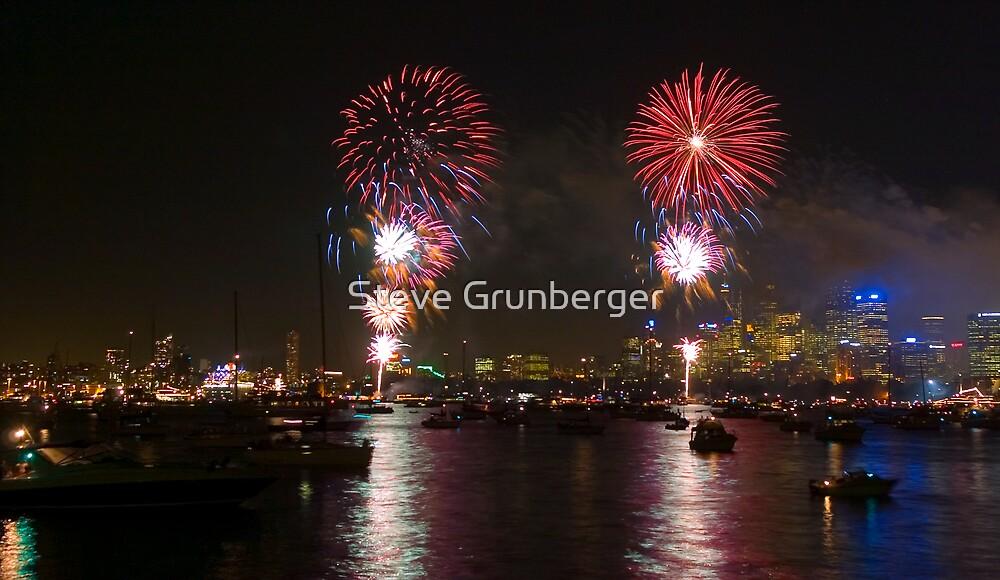 Fireworks by Steve Grunberger