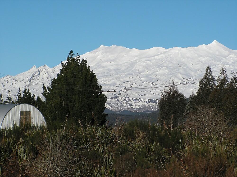 Mount Ruapehu by jillandian