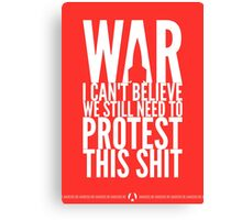 War Canvas Print