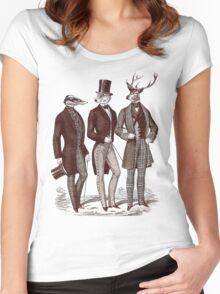 Gentlemen In The Woods Women's Fitted Scoop T-Shirt
