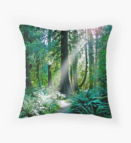 Go Toward The Light Throw Pillow
