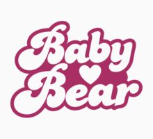 Baby bear in pink! cutie! by jazzydevil