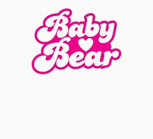 Baby bear in pink! cutie! Womens Fitted T-Shirt