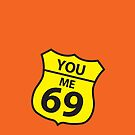 You and me route 69 by jazzydevil