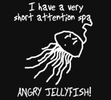 Mid-size ANGRY JELLYFISH!  T-Shirt