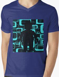 Retro Minifig Art  Mens V-Neck T-Shirt