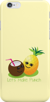 Let's Make punch! coconut and pineapple tropical fun! by jazzydevil